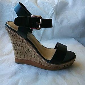 Women's Ankle Strap Wedge Open Toe Sandals